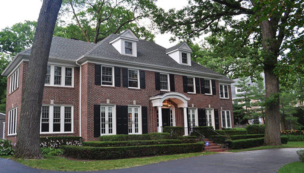 Dit is d woning uit de film 39 home alone 39 amerika only for Huis te koop in amerika
