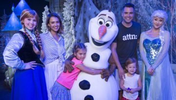 Jessica Alba, Cash Warren and daughters visit Walt Disney World