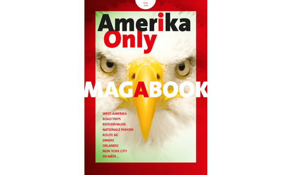 Cover Amerika Only Magabook Lente 2016