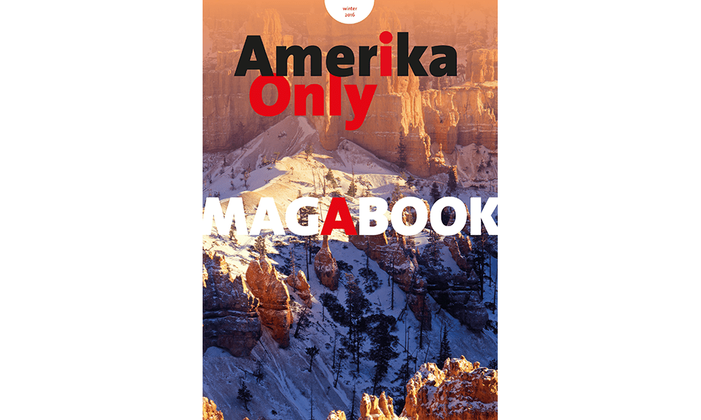 Cover Amerika Only Magabook Winter 2016 Bryce Canyon National Park