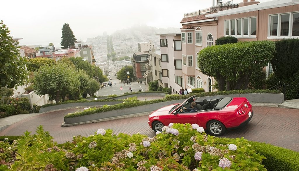 Lombard Street 3 - Hub via Visit California