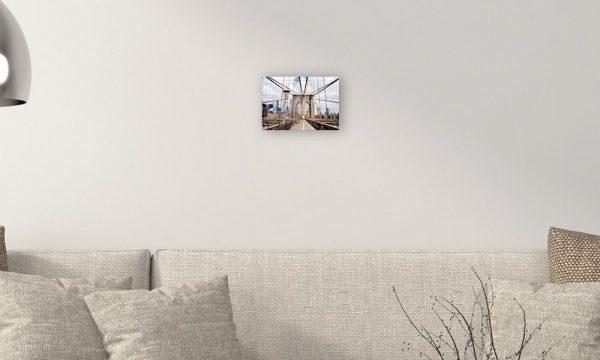 Brooklyn Bridge II op forex (30 x 20 cm)