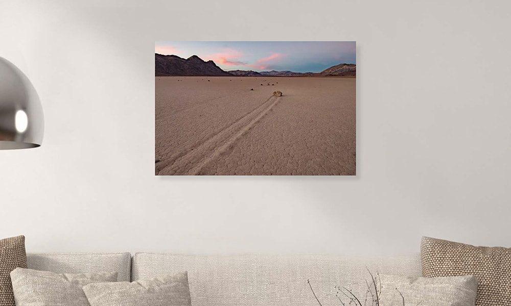 Death Valley National Park op dibond en forex (90 x 60 cm)