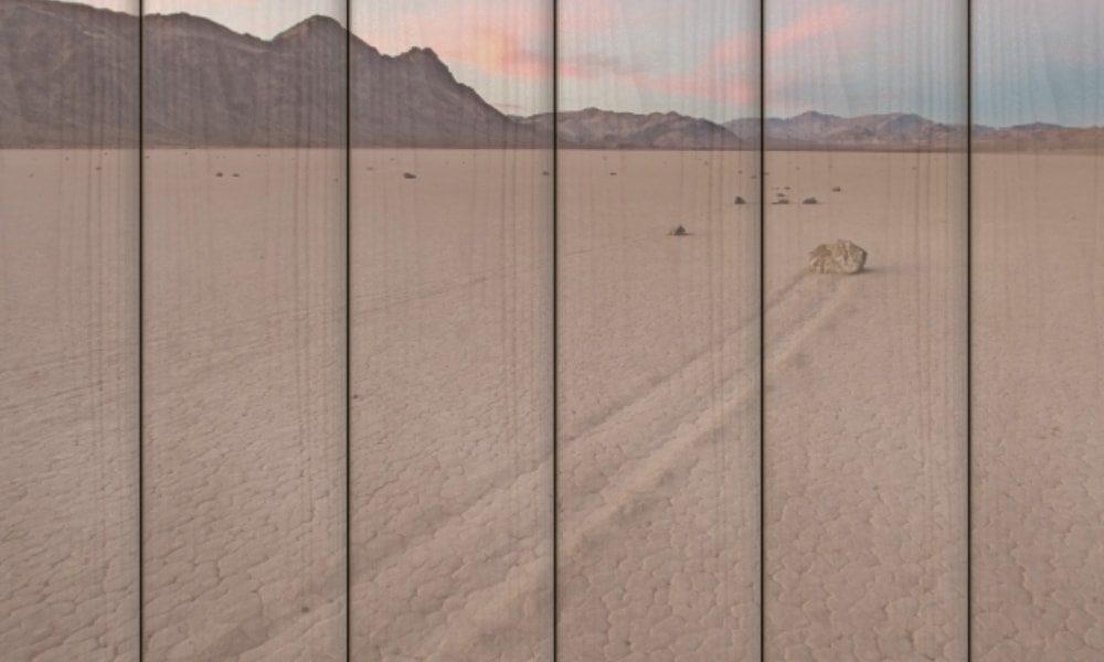 Death Valley National Park op hout (60 x 40 cm)