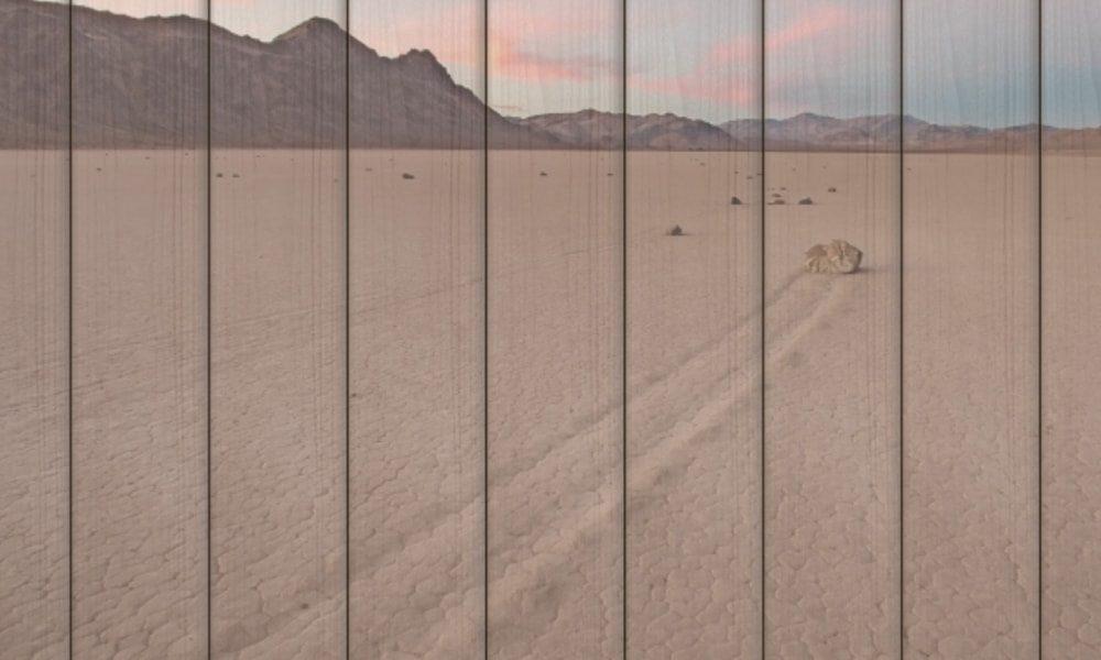 Death Valley National Park op hout (90 x 60 cm)