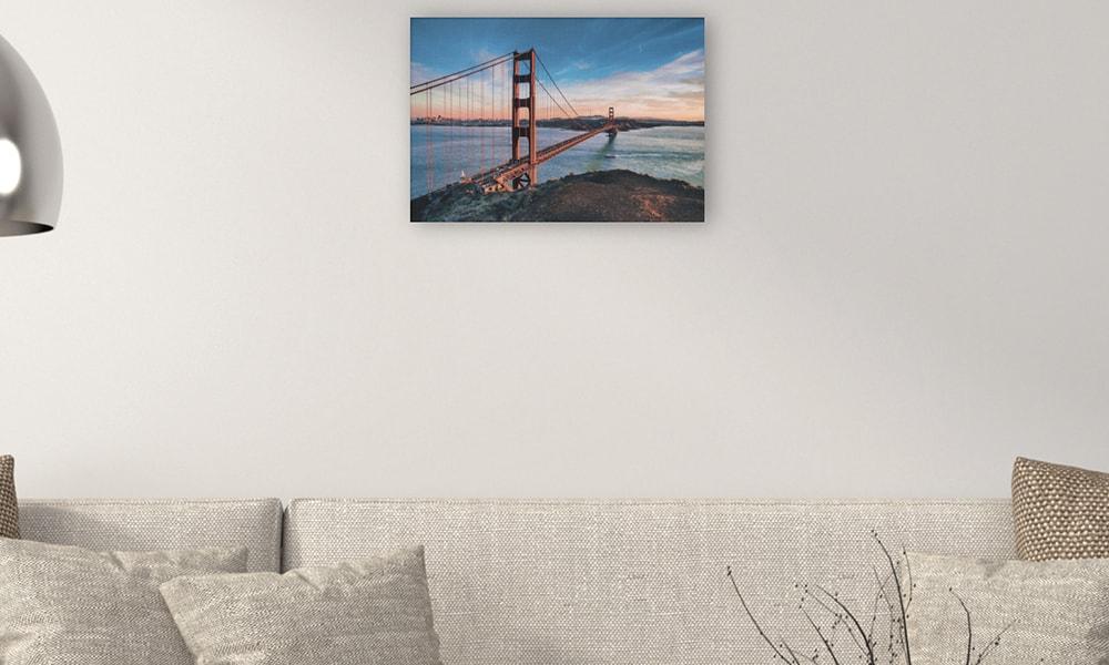 Golden Gate Bridge III op canvas (60 x 40 cm)