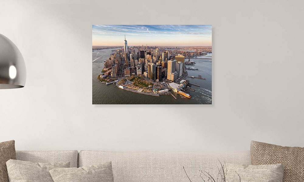New York I op dibond en forex (90 x 60 cm)