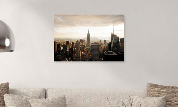 New York II op dibond en forex (90 x 60 cm)