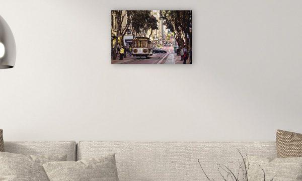San Francisco I op dibond (60 x 40 cm)