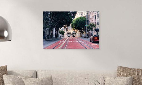 San Francisco II op dibond en forex (90 x 60 cm)