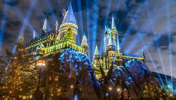 The Magic of Christmas at Hogwarts, Universal Orlando Resort