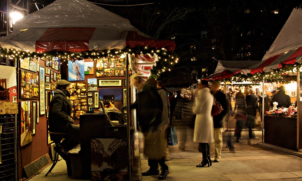 Holiday Market, Columbus Circle 2 - Malcolm Brown via NYC & Company