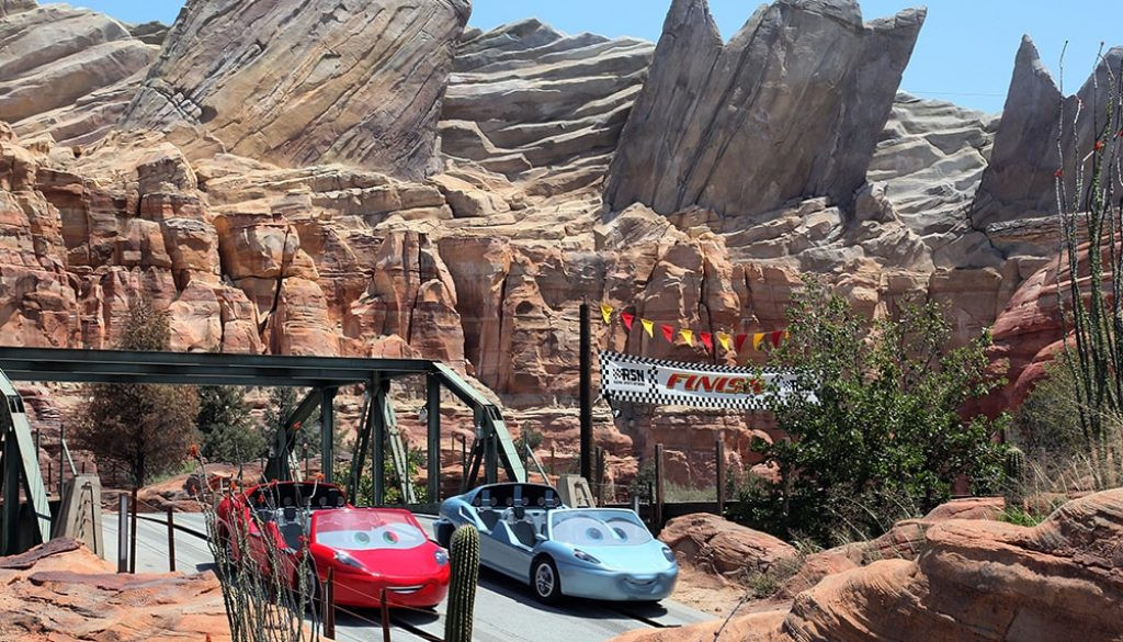 Radiator Springs Racer Ride, Disney's California Adventure - Paul Hiffmeyer via Disneyland Resort