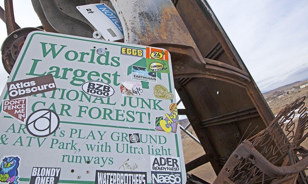 International Car Forest 2 - Sydney Martinez via TravelNevada