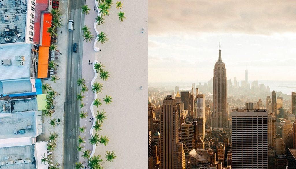 Miami + New York City