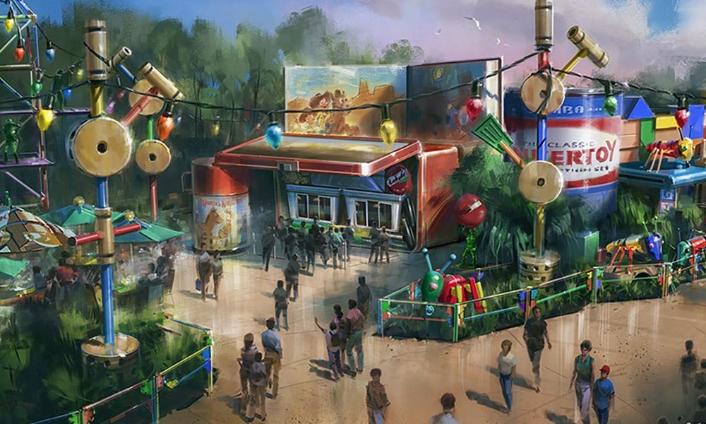 Toy Story Land, Disney's Hollywood Studios 3 - Disney