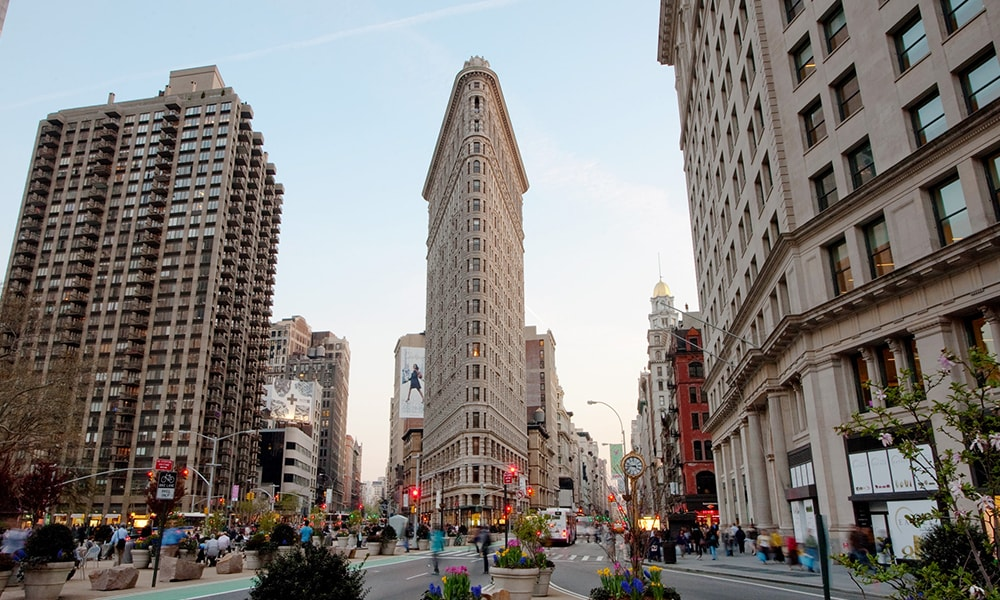 Flatiron Building - Will Steacy via NYC & Comapny