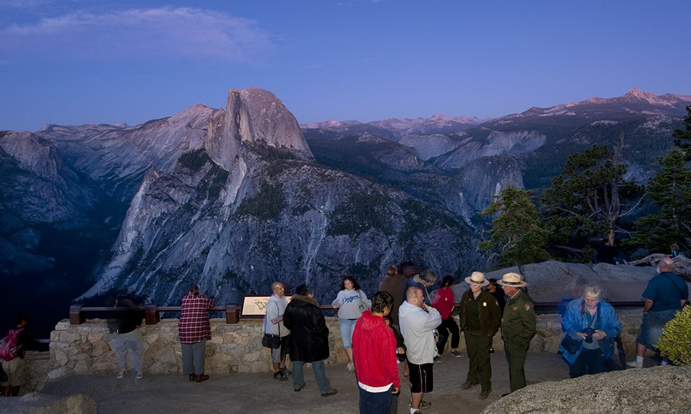 Glacier Point - Andreas Hub via Visit California