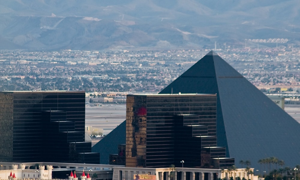Luxor Las Vegas - Ryan Jerz via Travel Nevada