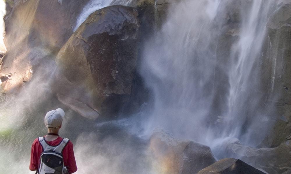 Mist Trail - Robert Holmes via Visit California