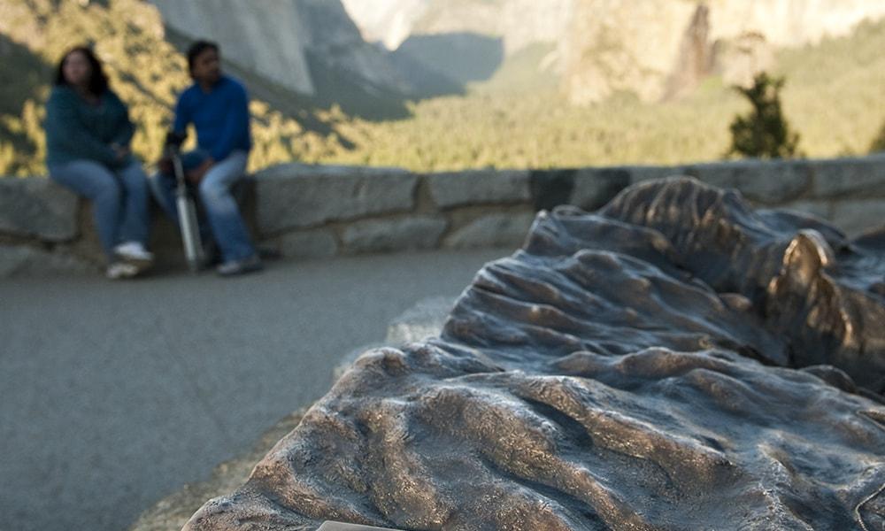 Tunnel View - Andreas Hub via Visit California