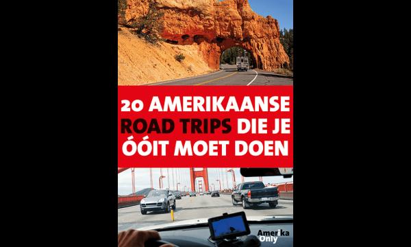 Cover 20 Amerikaanse Road Trips Die Je Óóit Moet Doen