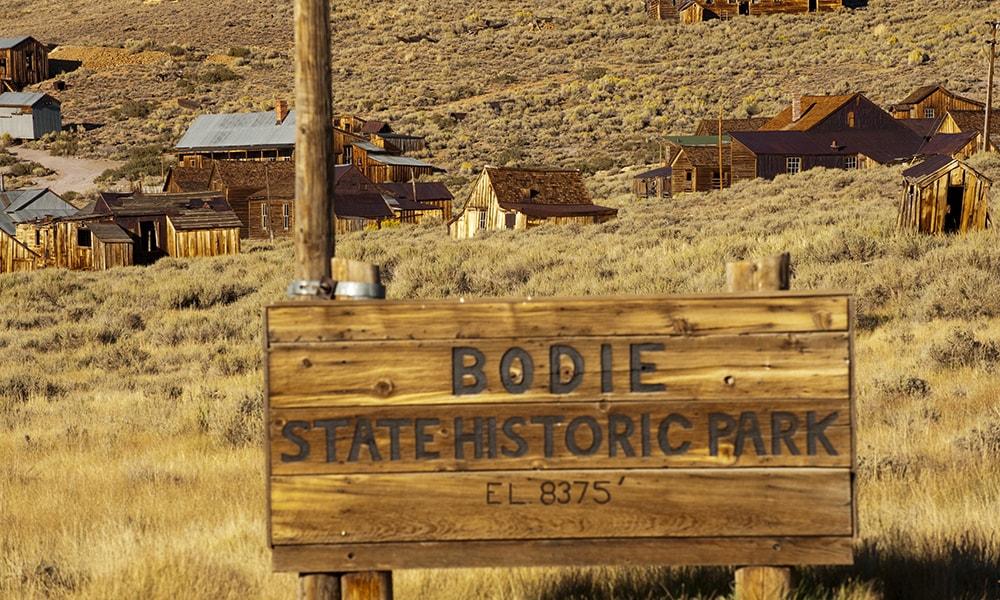 Bodie - Andreas Hub via Visit California