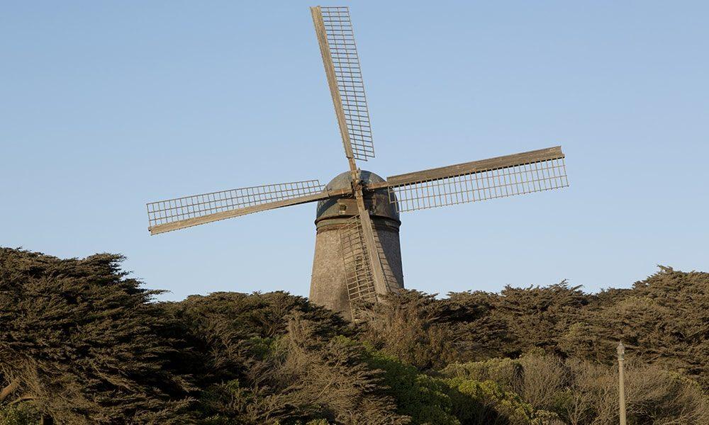 Dutch Windmill - Carol Highsmith via Visit California