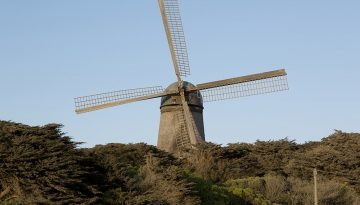 Dutch Windmill - Carol Highsmith via Visit California