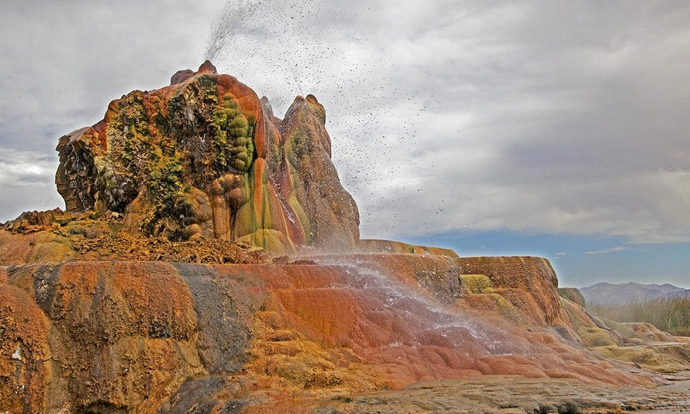 Fly Geyser - Sydney Martinez via Travel Nevada