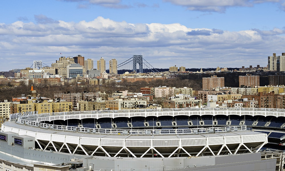 Yankee Stadium - Julienne Schaer via NYC & Company
