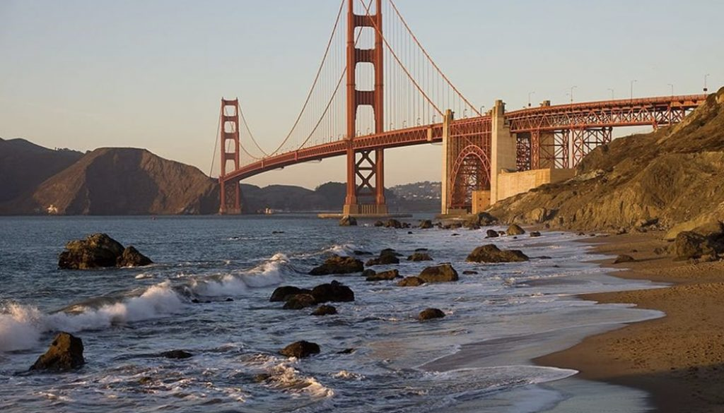 Baker Beach - Kevin Lux via Leven In SF