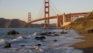Baker Beach - Kevin Lux via Leven In SF