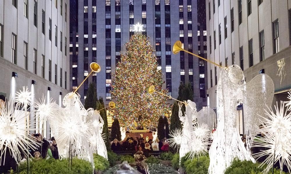 Rockefeller Christmas Tree - Marley White via NYC & Company