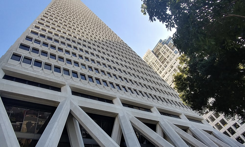Transamerica Pyramid - Kevin Lux via Leven In SF