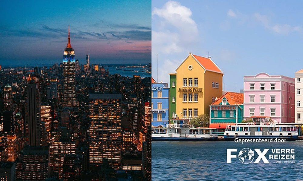 New York & Curacao FOX, Verre Reizen van ANWB