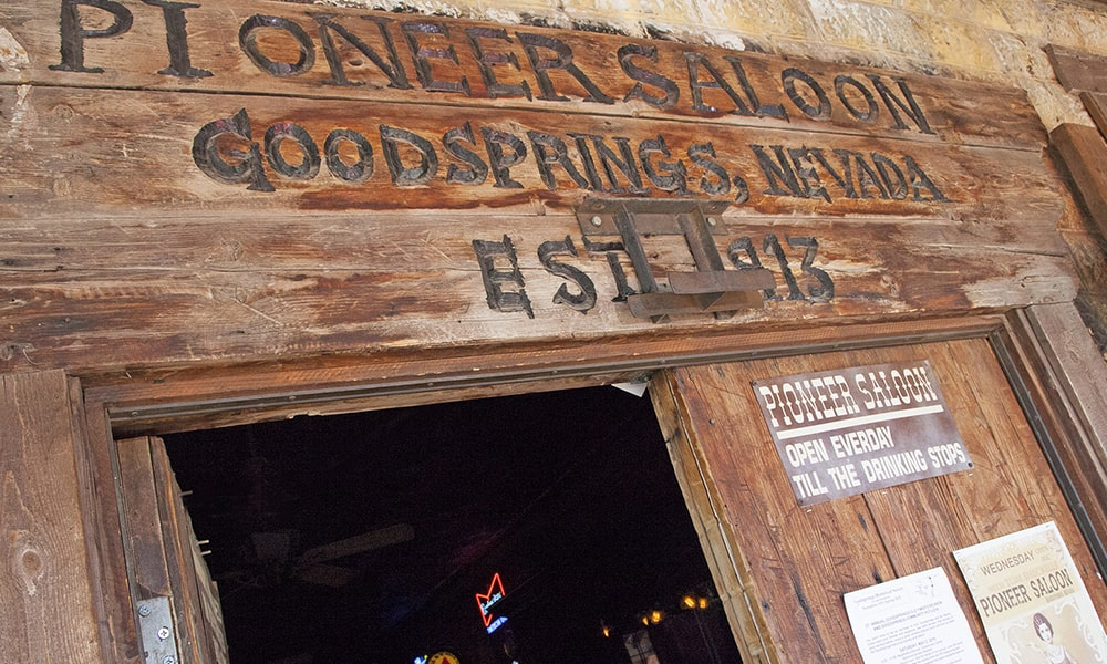 Pioneer Saloon - Sydney Martinez via Travel Nevada