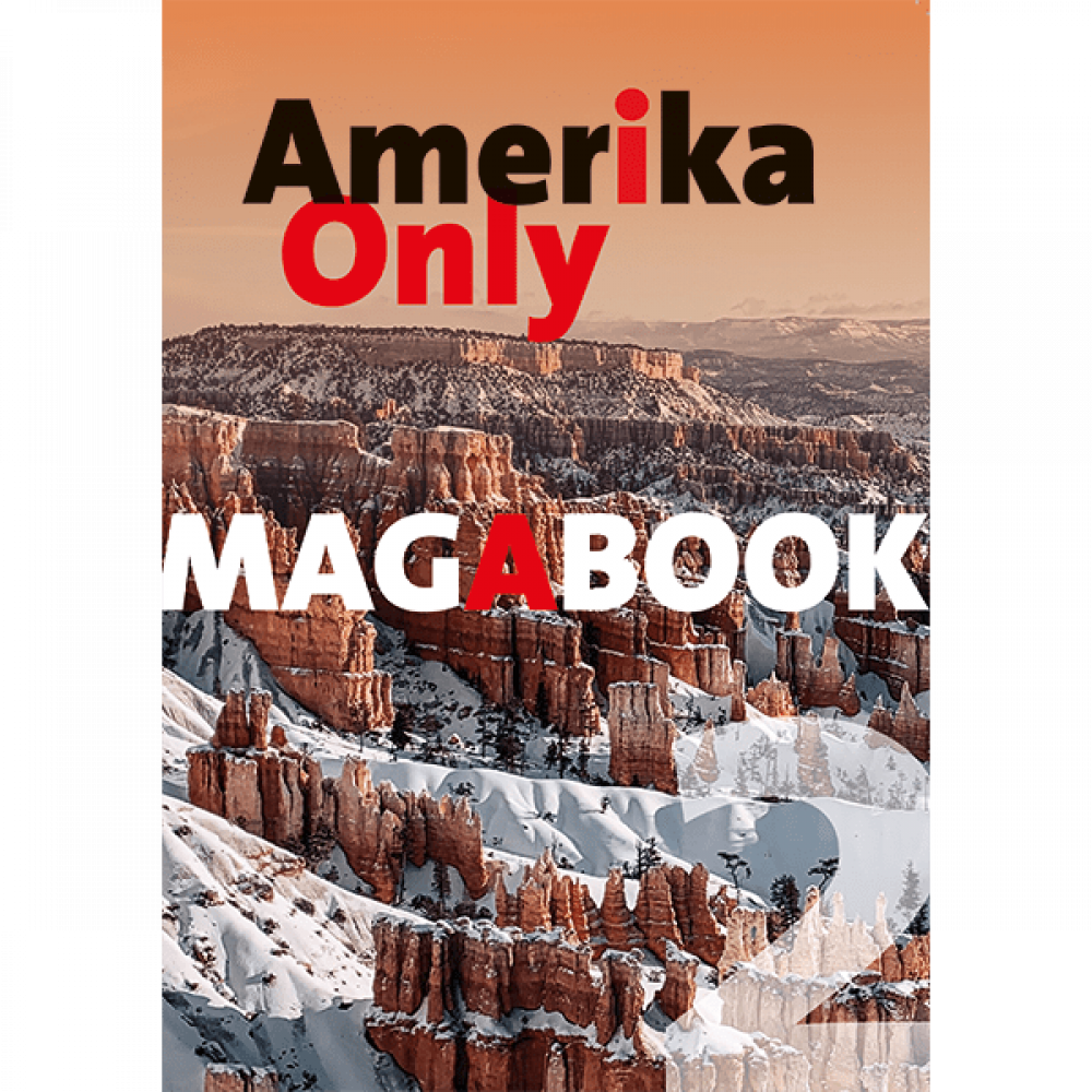 Amerika Only Magabook 2 - Cover