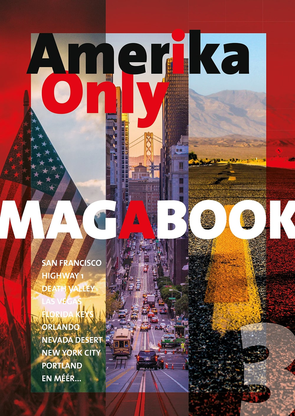 Amerika Only Magabook 3 - Cover