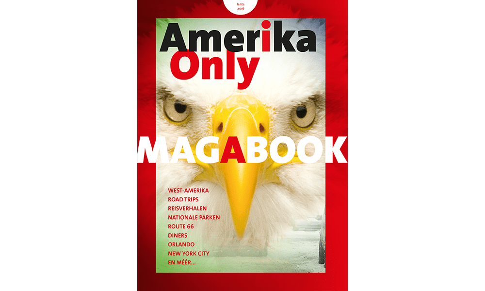 Amerika Only Magabook Lente 2016-min