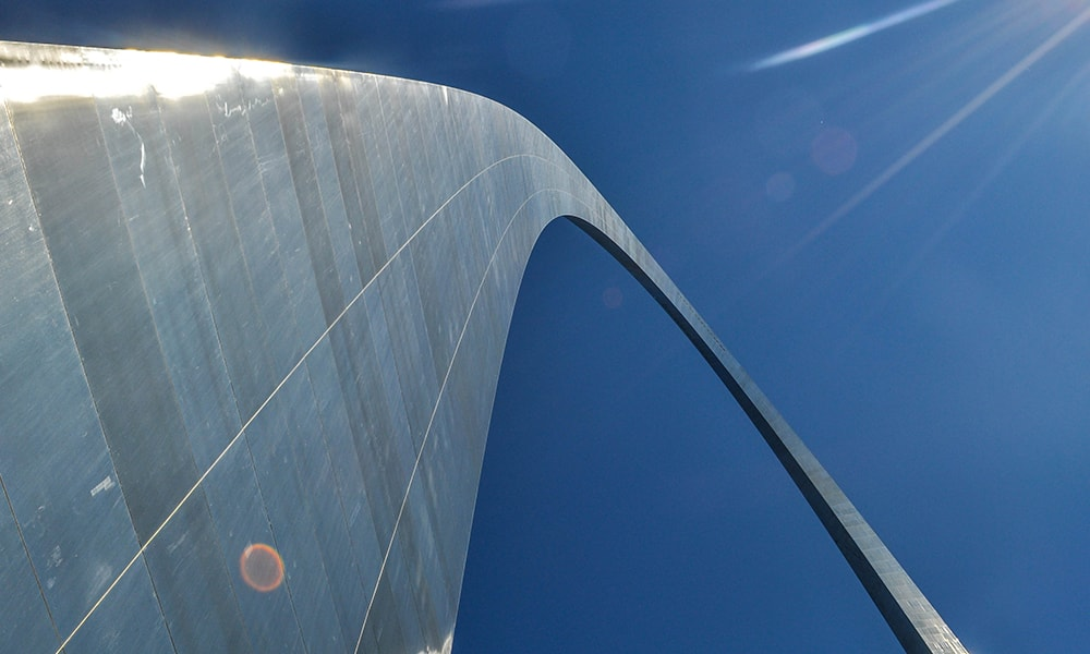 Gateway Arch, St. Louis - Anneloes Keunen via Amerika Only