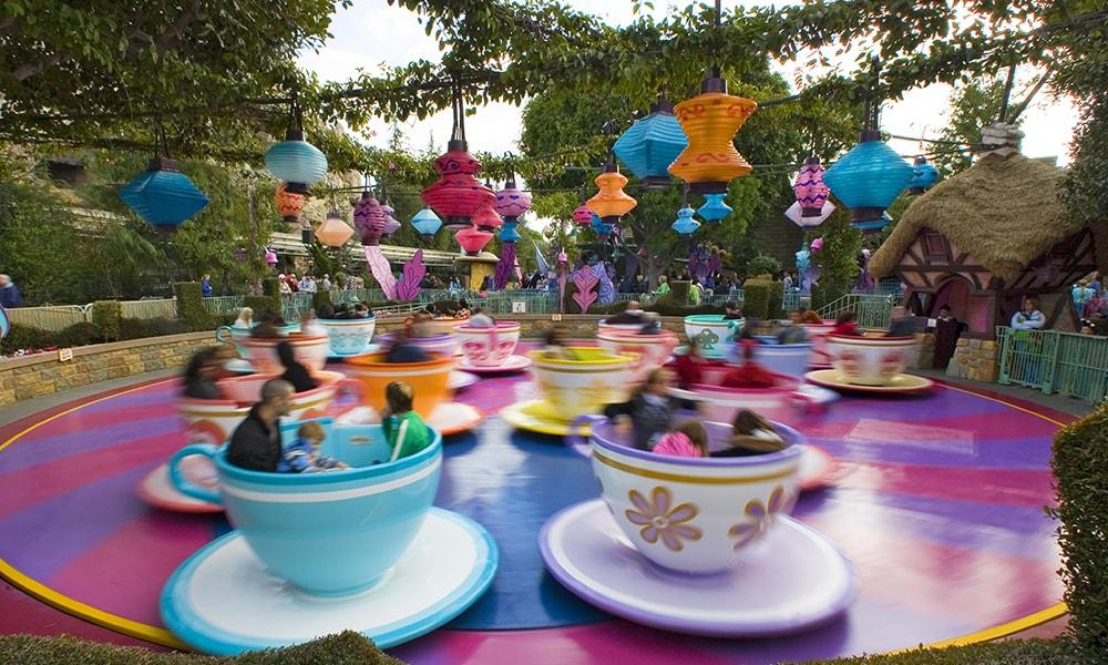 Disneyland attracties