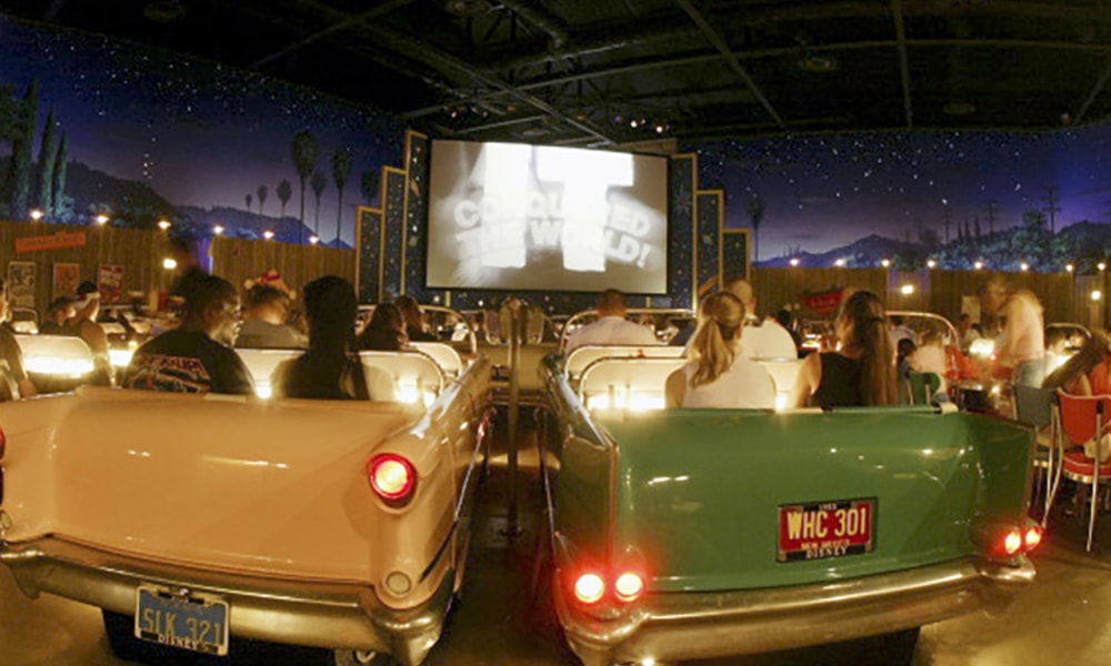 Sci-Fi Dine-In Theater Restaurants, Disney's Hollywood Studios