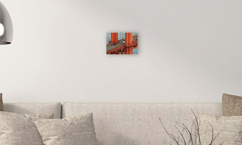Golden Gate Bridge I op forex (30 x 20 cm)