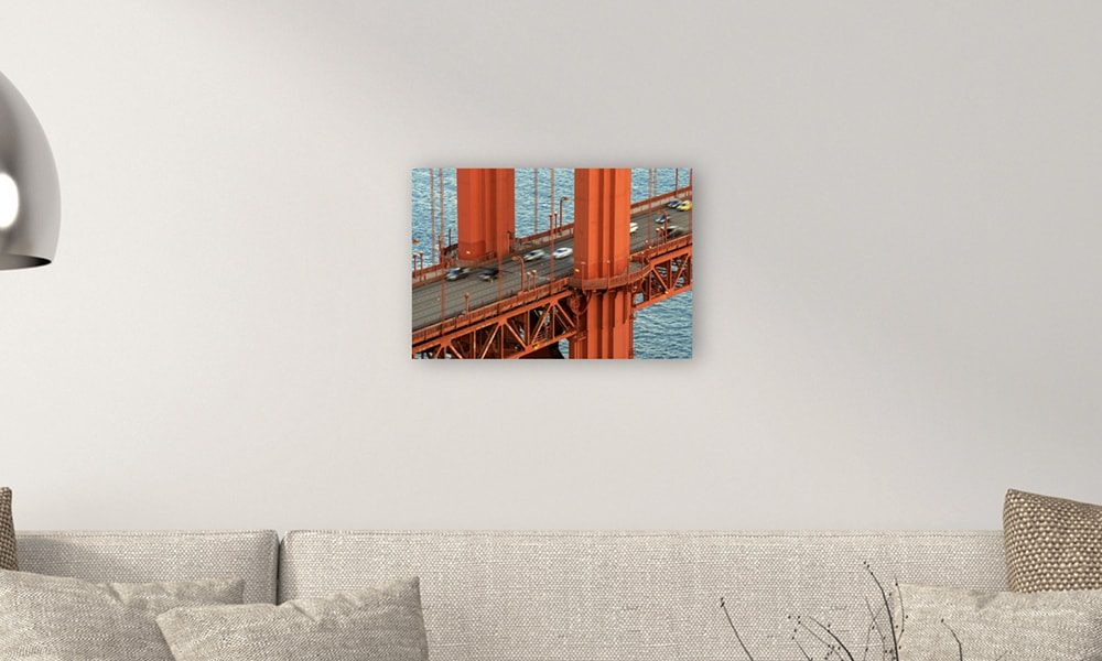 Golden Gate Bridge I op forex (60 x 40 cm)