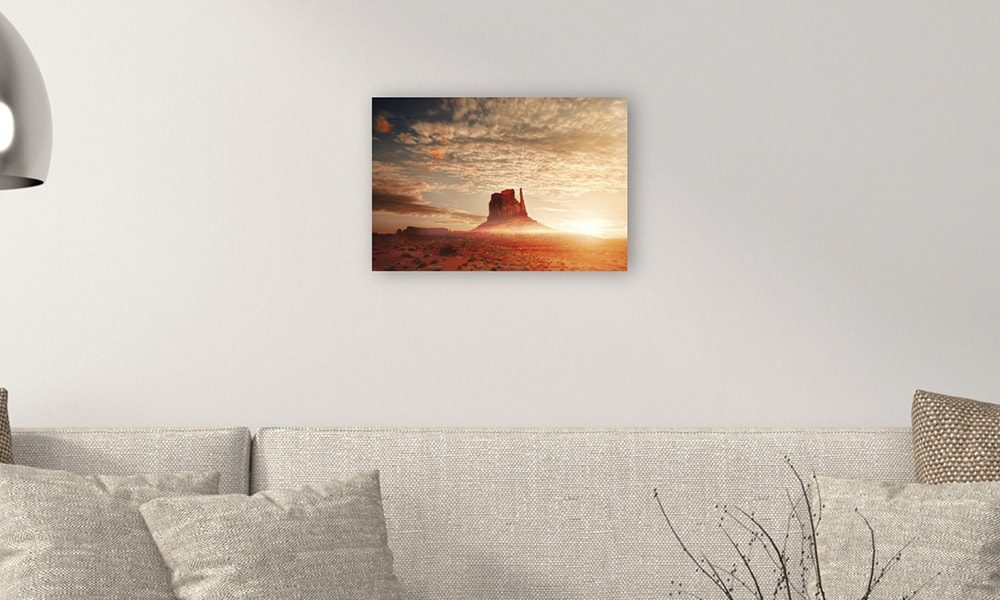 Monument Valley op forex (60 x 40 cm)