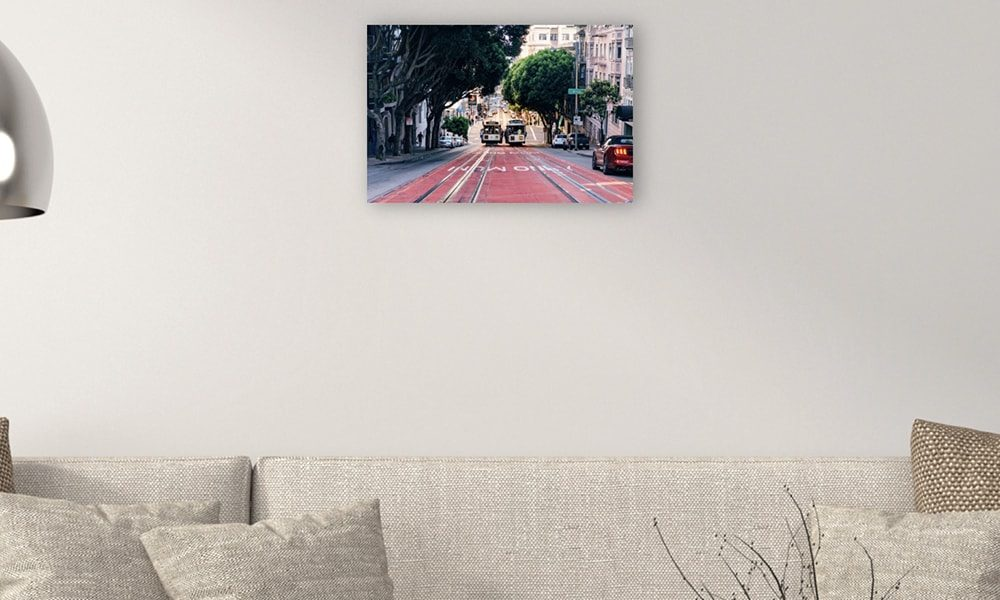 San Francisco II op dibond (60 x 40 cm)