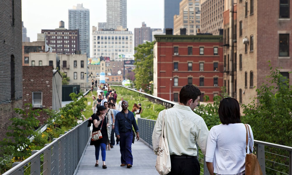 High Line Park - Marley White via NYC & Company