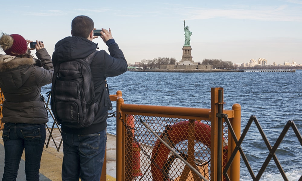Staten Island Ferry - Juliene Schaer via NYC & Company