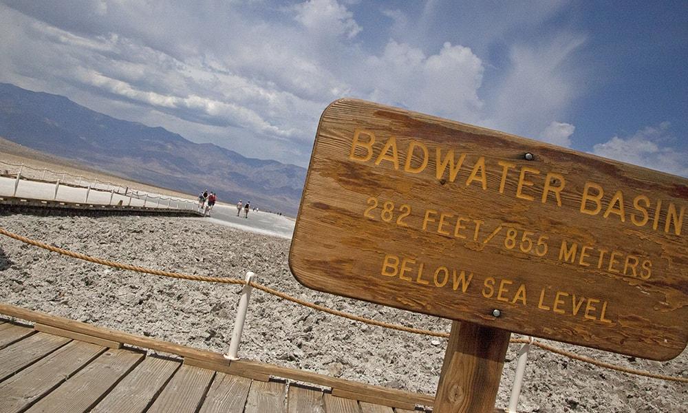 Death Valley bezienswaardigheden